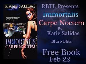 Immortalis Carpe Noctem Blurb Blitz Banner